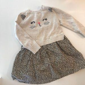 😻 CUTE! Toddler GAP Cat dress